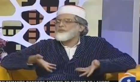 Khabarnaak on Geo News (Comedy Show) - 21st August 2016