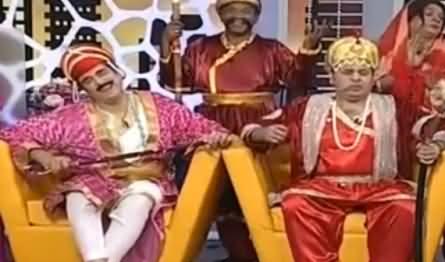 Khabarnaak on Geo News (Comedy Show) - 26th August 2016