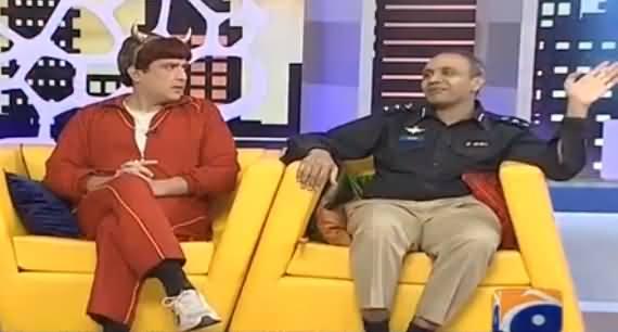 Khabarnaak on Geo News (Comedy Show) - 26th June 2016