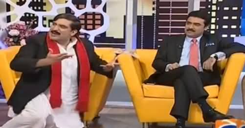 Khabarnaak on Geo News (Comedy Show) - 29th July 2016