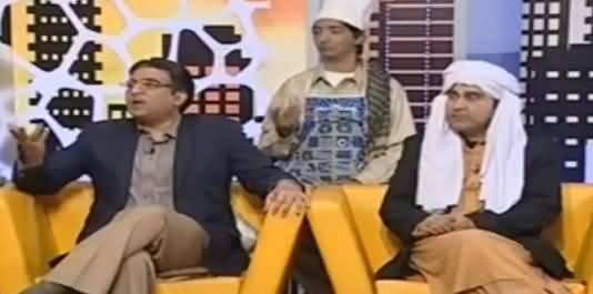 Khabarnaak on Geo News (Comedy Show) - 30th December 2016