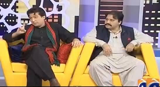 Khabarnaak on Geo News (Comedy Show) - 30th June 2016