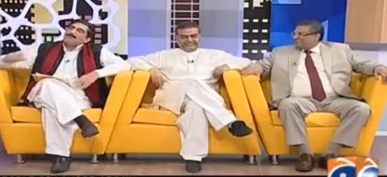 Khabarnaak on Geo News (Comedy Show) - 3rd September 2016