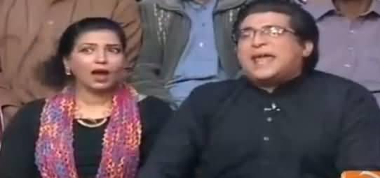 Khabarnaak on Geo News (Comedy Show) - 4th March 2017