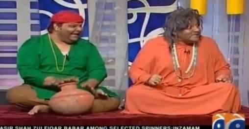 Khabarnaak on Geo News (Comedy Show) - 5th June 2016
