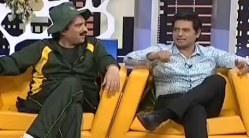 Khabarnaak on Geo News (Comedy Show) - 8th July 2016