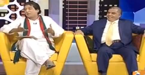 Khabarnaak on Geo News (Comedy Show) - 8th October 2016