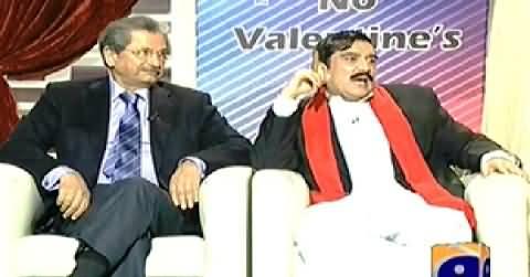 Khabarnaak (PTI Shafqat Mehmood and Sheikh Rasheed Dummy) – 15th February 2014