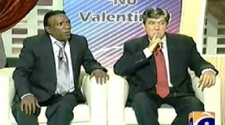 Khabarnaak (President Obama and John Kerry Dummy) – 16th February 2014