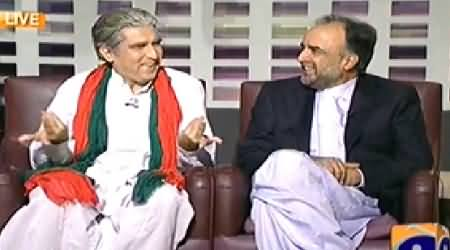 Khabarnaak (Shah Mehmood Qureshi Dummy & Qamar Zaman Kaira) – 26th September 2014