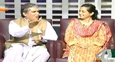 Khabarnaak (Shah Mehmood Qureshi Dummy, Sabahat Zakriya) - 22nd August 2014