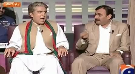 Khabarnaak (Shah Mehmood Qureshi Dummy & Shaukat Basra) – 4th June 2015
