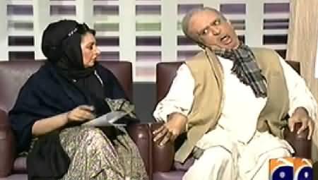 Khabarnaak (Shahbaz Sharif Dummy with Tarjuman Begum) – 13th December 2014