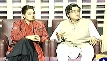 Khabarnaak (Shashi Tharoor and Mehr Tarar Dummy)- 26th January 2014