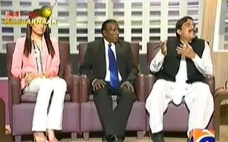 Khabarnaak (Sheikh Rasheed and Obama Dummy) – 24th June 2014