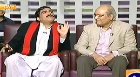 Khabarnaak (Sheikh Rasheed Dummy & Mushahidullah Khan) - 27th September 2014