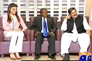 Khabarnaak (Sheikh Rasheed Dummy, President Obama Dummy with His Interpreter Miss Jennifer) – 7th September 2013