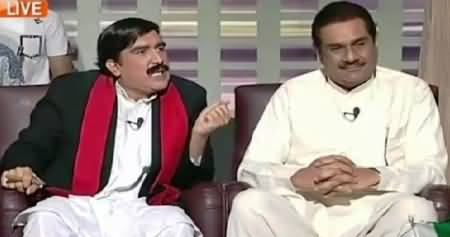Khabarnaak (Raza Hayat Hiraj & Sheikh Rasheed's Dummy) – 8th May 2015