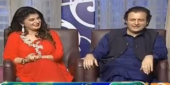 Khabarnaak (Waleed Iqbal & Saima Khan) - 16th June 2016