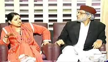 Khabarnaak (Zaid Hamid Dummy with BJP leader Sushma Swaraj Dummy) - 4th October 2013
