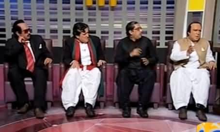 Khabarnak (Imran Khan, Nawaz Sharif, Zardari & Altaf Dummies) - 29 November 2015