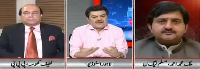 Khara Sach Luqman Kay Sath (Nawaz Sharif Ka Wavela) - 11th June 2018