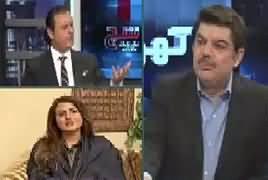 Khara Sach With Mubashir Lucman (Fawad Chaudhry Vs MD PTV) – 18th March 2019