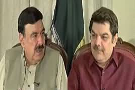 Khara Sach With Mubashir Lucman (Sheikh Rasheed Exclusive Interview) – 1st July 2019