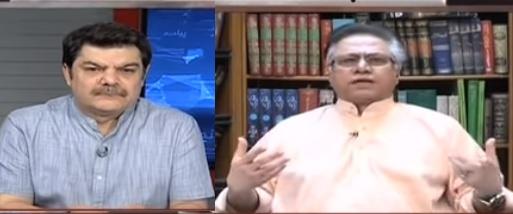 Khara Sach With Mubashir Luqman (Hassan Nisar Exclusive Interview) - 7th August 2018