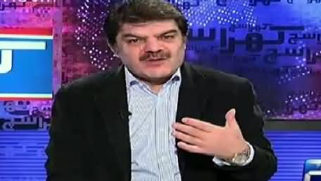 Khara Such With Mubashir Lucman (Who Will Be The Winner of Karachi) – 27th November 2015