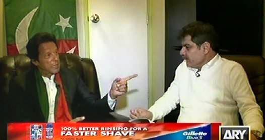 Kharra Sach Part-1 (Imran Khan Special Interview with Mubashir Luqman) - 19th November 2014