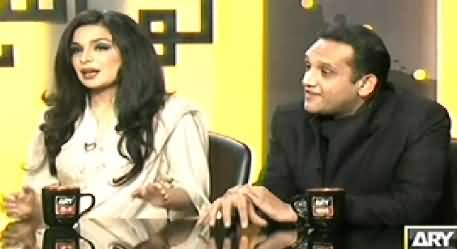 Kharra Sach (Meera And Captain Naveed About Their Leaked Video) - 8th January 2014