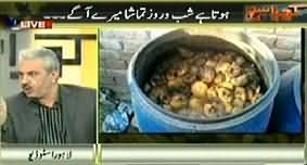 Kharra Sach Repeat (Hota Hai Shab o Rooz Tamasha Mere Agey) – 4th March 2015