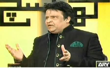 Kharra Sach REPEAT (Special Talk with Comedy King Umar Sharif) - 25th February 2015