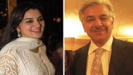 Khawaja Asif and Kashmala Tariq Are Living in the Same Room - Jamshaid Dasti
