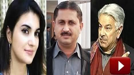 Khawaja Asif Has Kept Kashmala Tariq Illegally in Parliament Lodges - Jamshaid Dasti