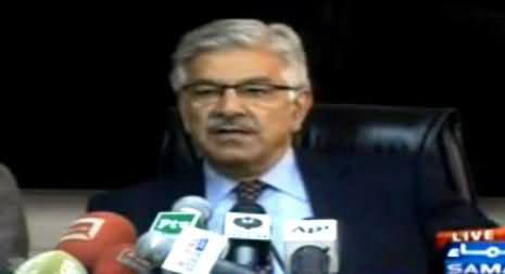 Khawaja Asif Press Conference on Electricity Crisis - 26th January 2015
