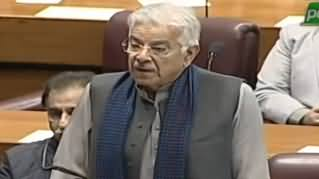 Khawaja Asif Speech in Joint Session of Parliament on Indian Aggression