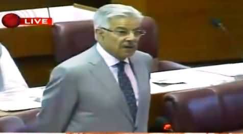 Khawaja Asif Speech in National Assembly – 18th May 2016