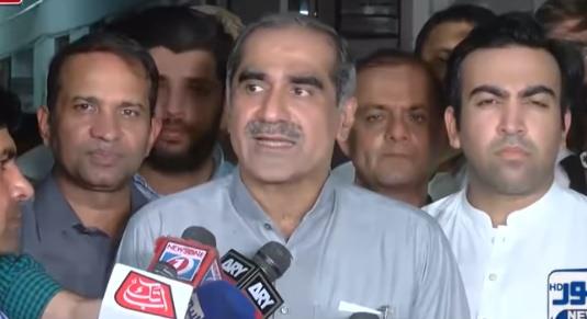 Khawaja Saad Rafiq Media Talk After Losing Again In NA-131 Against Imran Khan
