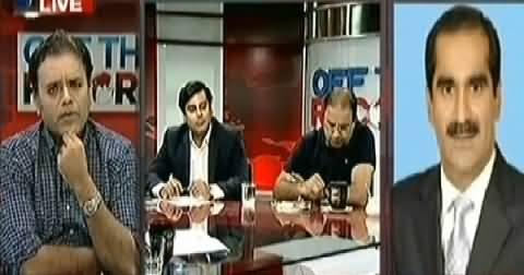 Khawaja Saad Rafique Adopts Rude Behaviour with Arshid Sharif in Live Show