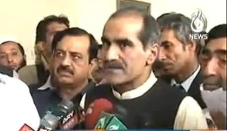 Khawaja Saad Rafique and Rana Mashood Reply to Dr. Tahir ul Qadri on His Debate Challenge
