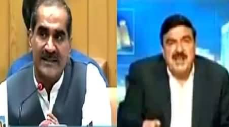 Khawaja Saad Rafique and Sheikh Rasheed Comments on Karachi Airport Attack
