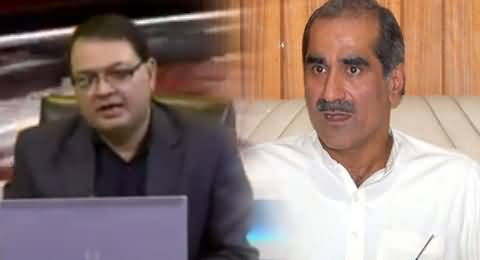 Khawaja Saad Rafique Is Angry with Nawaz Sharif Due to His Case Opening in NAB