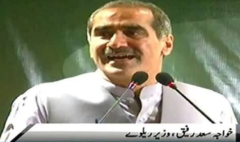 Khawaja Saad Rafique Says He Still Stands Up With What He Said About Army