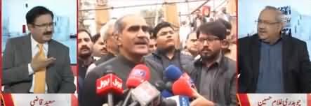 Khawaja Saad Rafique Se Arbon Rupees Niklein Ge - Chaudhry Ghulam Hussain