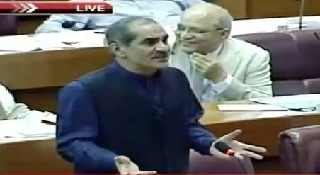 Khawaja Saad Rafique Speech in Parliament – 6th August 2015