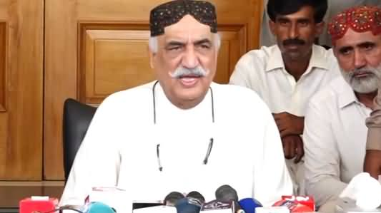 Khursheed Shah Complete Press Conference on Rana Sanaullah & Other Issues