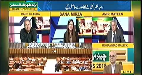 Kis Party Ke Logon Ne PMLN Ko Senate Chairmanship Ke Leye Vote Nahi Diya - Muhammad Malick's Analysis