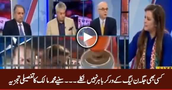 Kisi Jagah Bhi PMLN Workers Bahir Nahi Nikle - Muhammad Malick Analysis
